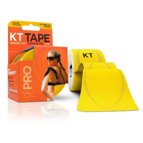 KT Tape Pro - Solar Yellow | Kinesiology Tape | Sports Tape India