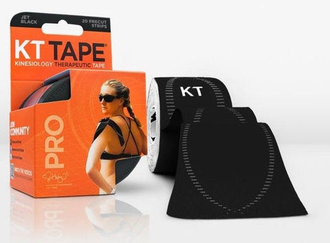 KT Tape Pro - Jet Black | Kinesiology Tape | Sports Tape India