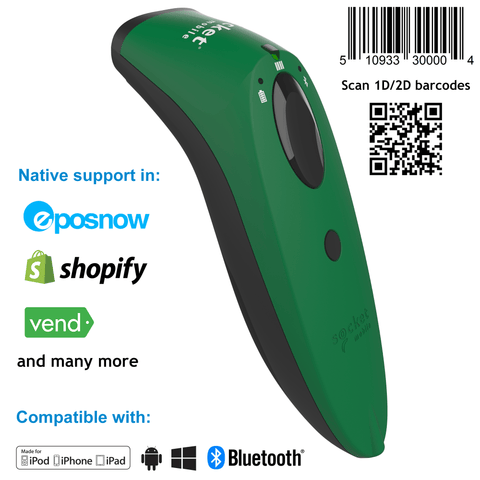 SocketScan® S760 Universal Barcode Scanner & Travel ID Reader