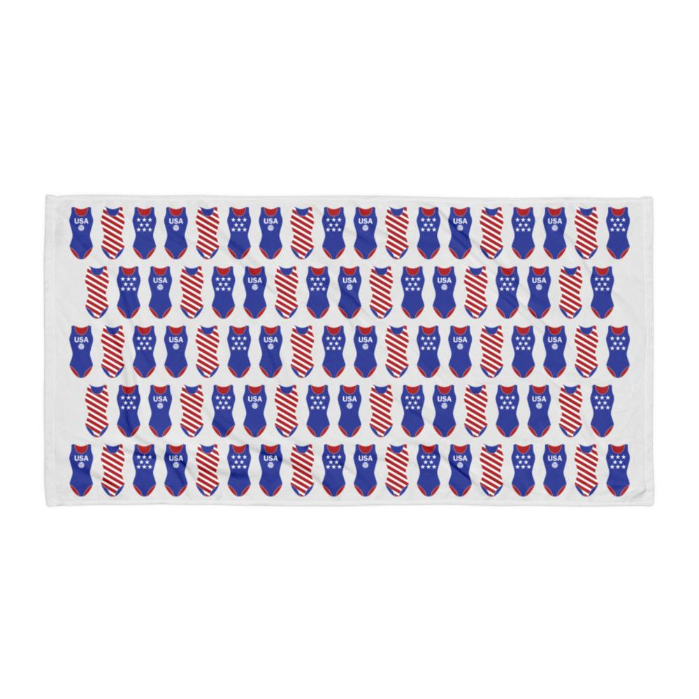USA Swimsuits Water Polo Towel
