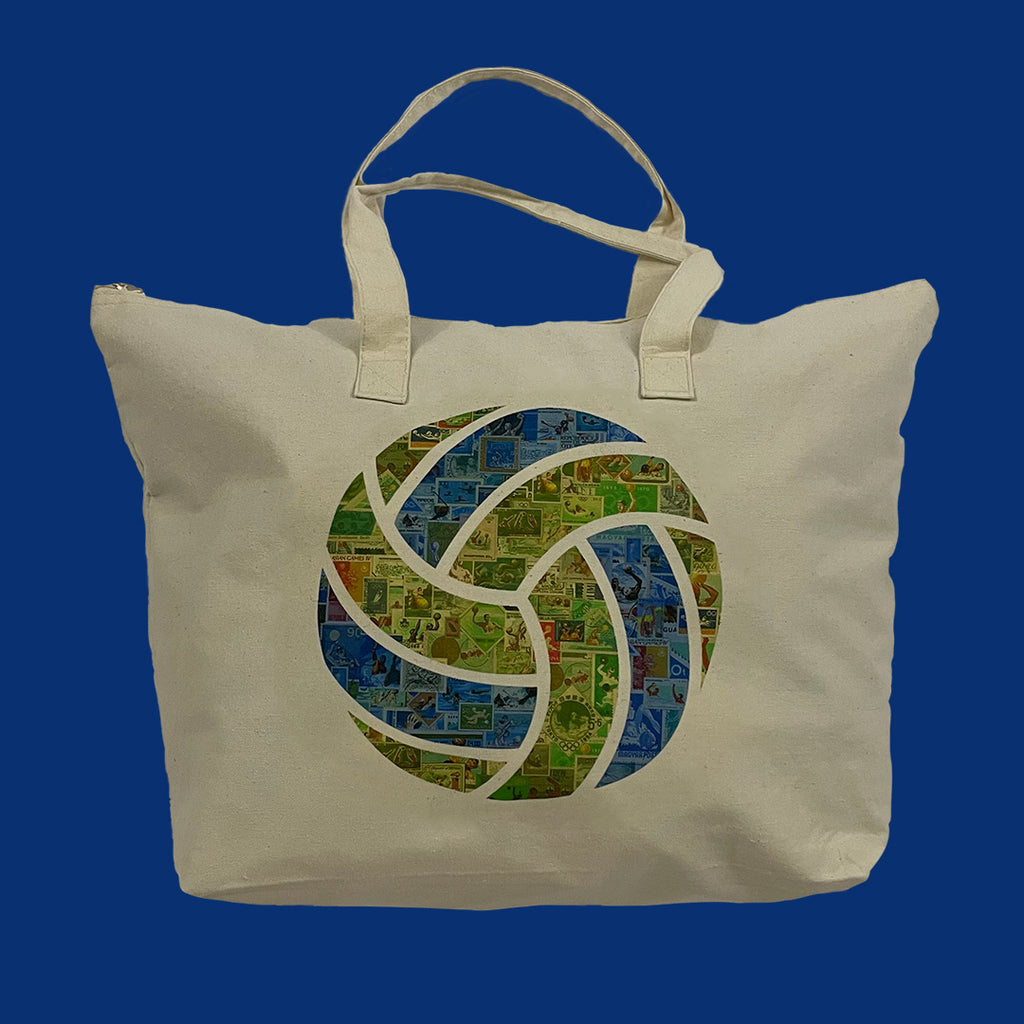 Celebration of Stamps Water Polo Tote Bag
