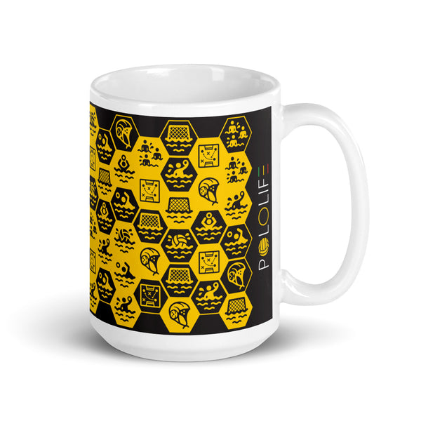 Honeycomb Mug-Mugs-POLOLIFE