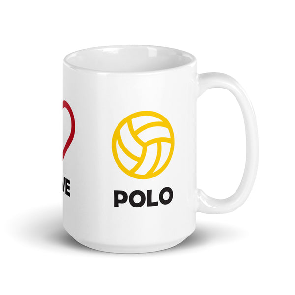Peace Love Polo Mug