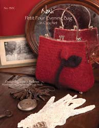 0130C - Petit Four Evening Bag in Crochet