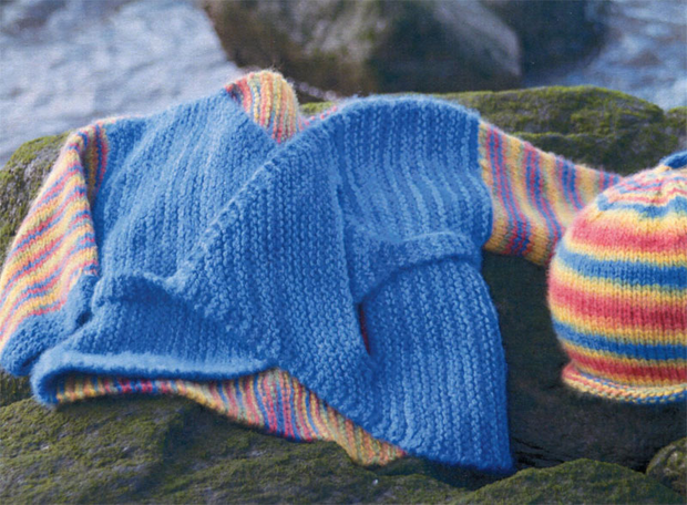 Artyarns 7 Patterns for Babies and Toddlers in Artyarns Cashmere Sock Yarn