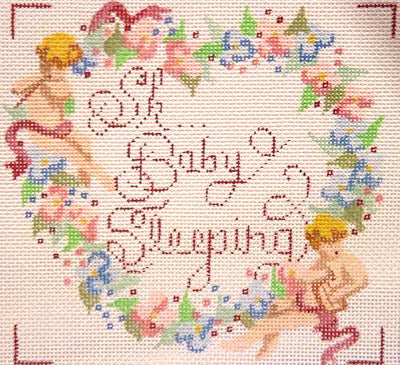 Baby Sleeping Heart/Floral