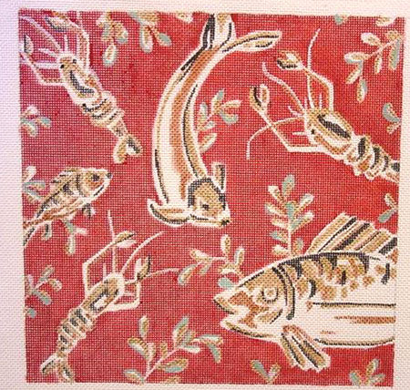 Batik Fish & Lobster