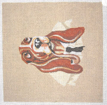 Beagle With Pipe
