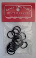 Black Ring Markers - Large