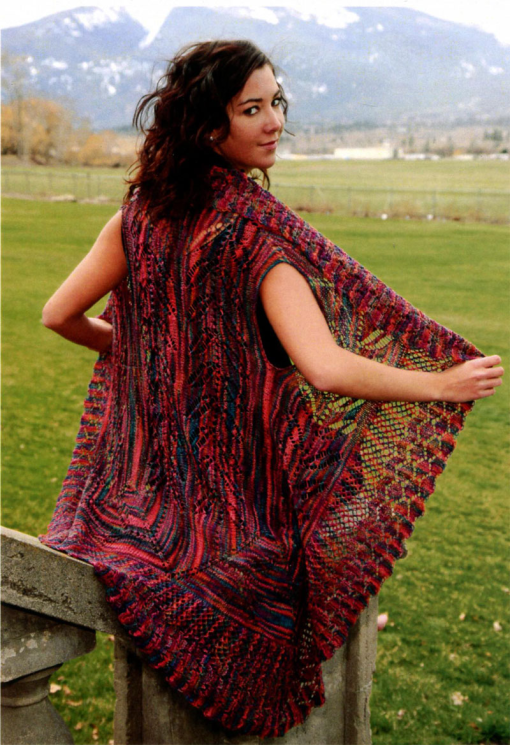 Brooke's Lace Shawl