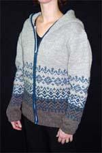 Brown Sheep Choral Song Cardigan 703