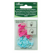 CLV3031 Quick-Lock Stitch Markers Medium
