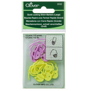 CLV3032 Quick-Lock Stitch Markers Large