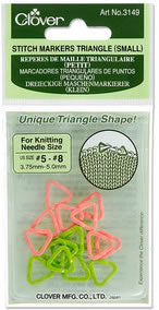 CLV3149 Small Triangle Stitch Markers