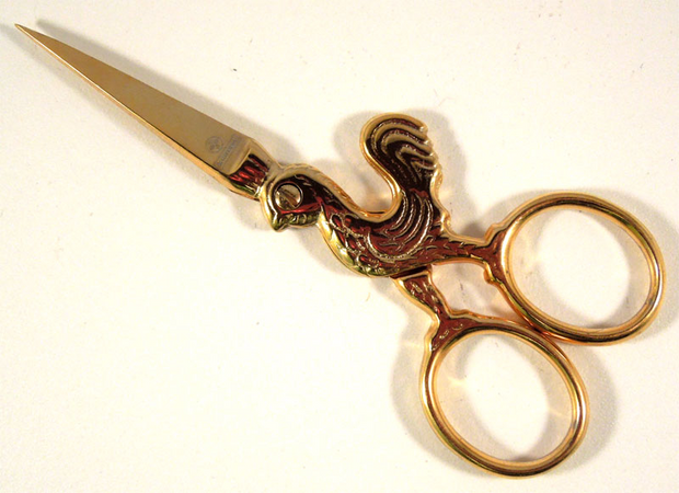 Chanticleer Embroidery Scissors