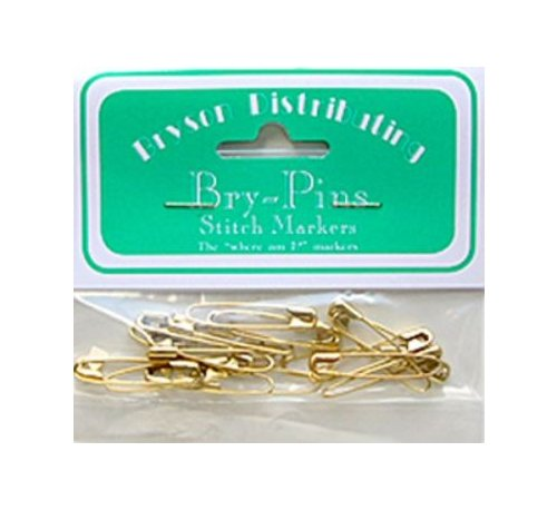 Coiless Brass Pins 1-1/4in.