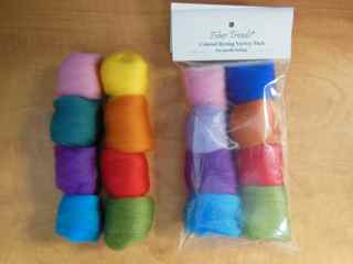 Colored Roving Variety Pack