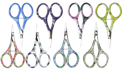 Colorful Curved Scissors