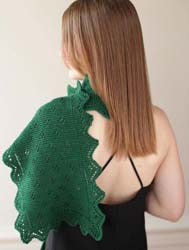 Emerald Isle Lacy Scarf by Heritage Fiber Publications