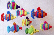 Felted Fish Pattern P-1