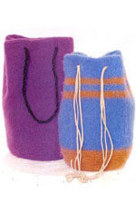 Felted Round Bags P375