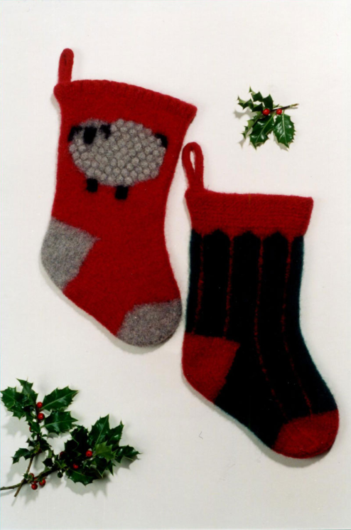 Fiber Trends 204x Felt Christmas Stockings