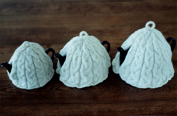 Fiber Trends 213 Braided Cable Tea Cosies