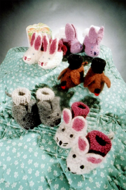 Fiber Trends CH-22 Animal Friends Bootie