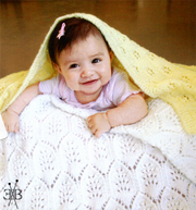 Fiber Trends CH-48 Light & Lacy Baby Blanket