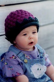 Fiber Trends CH-9 A Berry Cute Hat