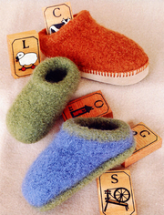 Fiber Trends CH38 Children's Felt Clogs