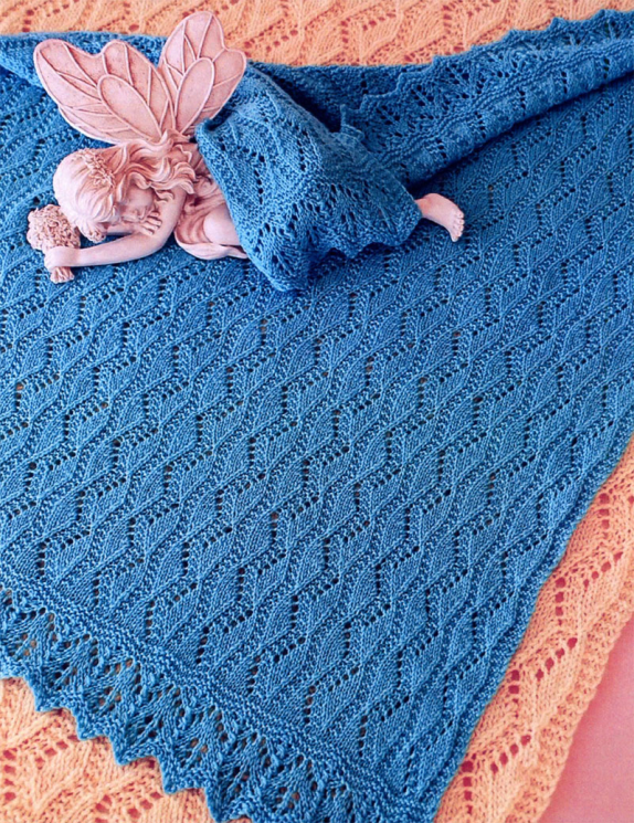 Fiber Trends Ch-41 Estonian Lullaby Blanket