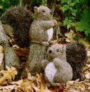 Fiber Trends FT-229 Nuts about Squirrels
