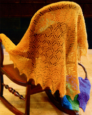 Fiber Trends S-2017 Spinner's Lace Shawl