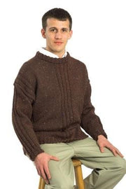 Galway Colornep 1259 Man's Ribbed Pullover Pattern