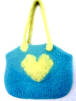 Heart in Hand Bag