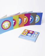 Herdy Square Cards Six Pack