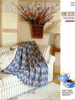 Home Decor Afghans Crochet 1300