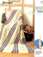 Home Decor Afghans Crochet 1308