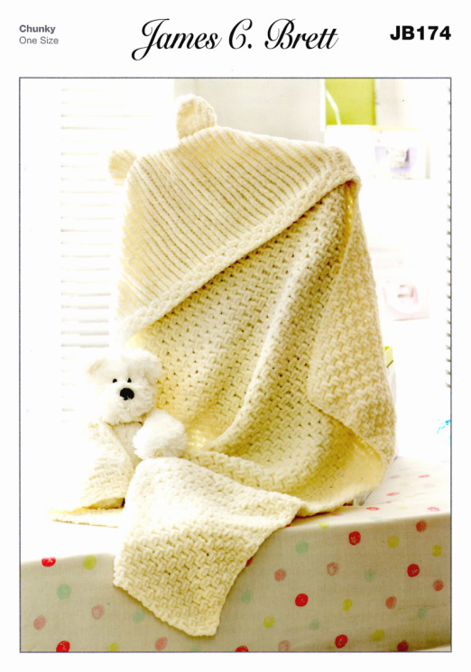 JB174 Hooded Blanket