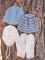 KPS 0273 Basic Hat & Mitten Set for Men