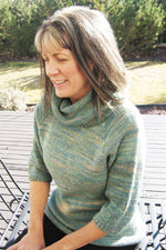 KPS 0291 Neckdown Cowl-Collared Pullover