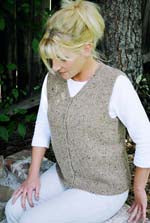 KPS 0995 Basic Cardigan Vest for Women