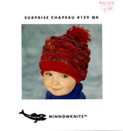 Minnowknits Surprise Chapeau #129QK