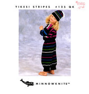 Minnowknits Yikes! Stripes #125QK