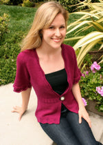 Mirabor Cardigan by The Yarniad