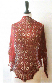 Monica's One Skein Shawl by Michelle Miller