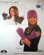 N040 Fingerless Gloves and Hat
