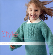 Nashua Handknits Style Series Easy to Knit Sweaters for Kids 0-12
