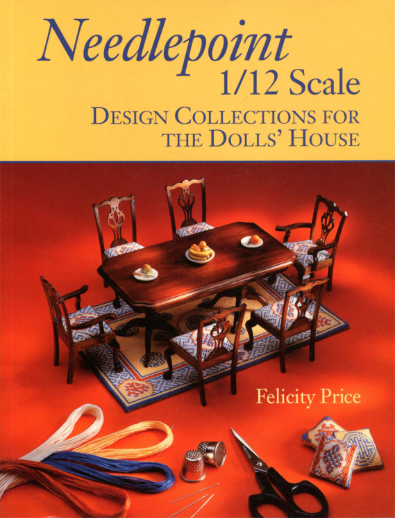 Needlepoint 1/12 scale Design Collection For the Dolls' House